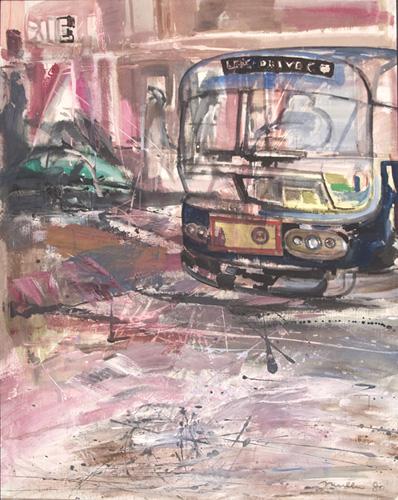 Le bus, 1980, 150x118