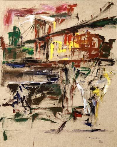 Le pont de Brooklyn, 1980, 180 x 142